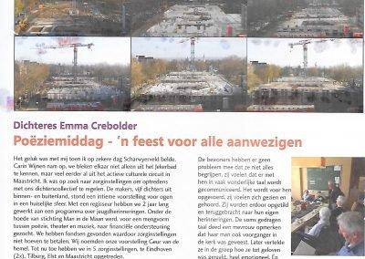artikel in Mosaezine nav optreden 30 april scharwyerveld Maastricht