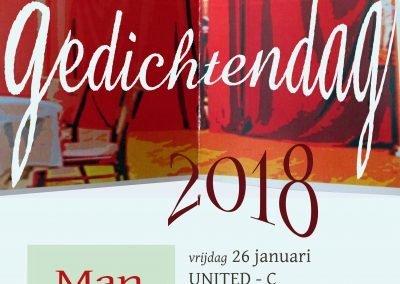 Poster Gedichtendag 2018